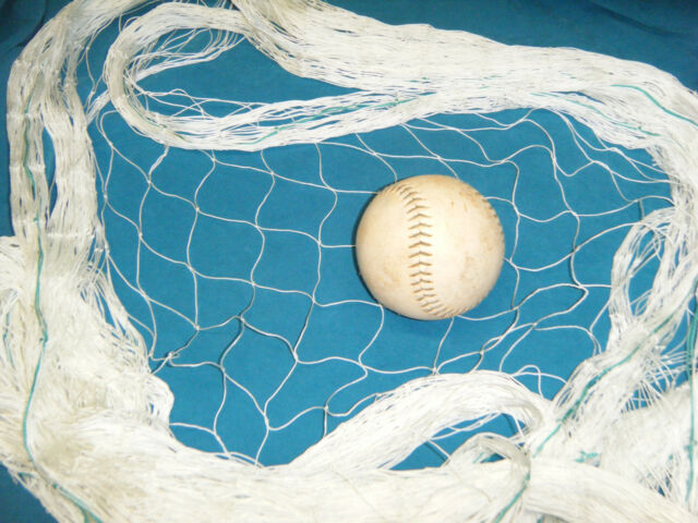 35/' x 25/'  SOCCER  FISHING NET FOOTBALL CAGE FENCE SPORTS SOFTBALL BARRIER