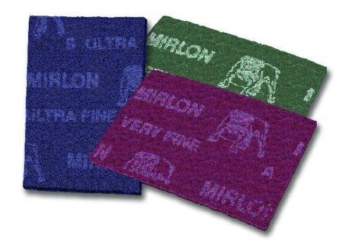 25 St MIRKA Handpads Mirlon Total-Schleifvlies 115 x 230 mm  MF2500