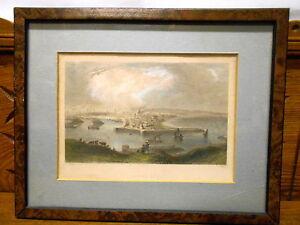 Old-Framed-Print-Aberdeen-Bartlett-Higham