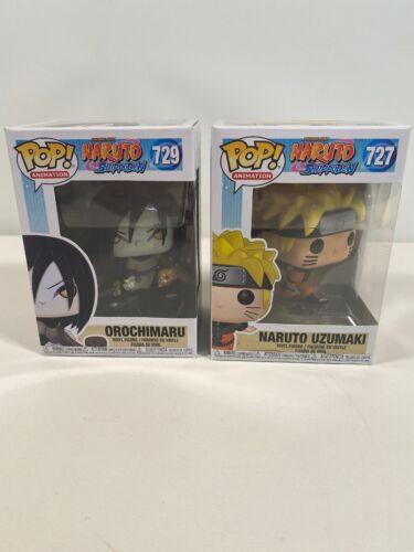 Naruto SHIPPUDEN-Bundle FUNKO POP Figure in vinile Orochimaru /& UZUMAKI
