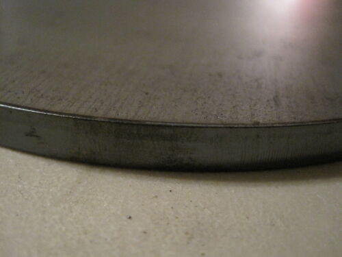 "Circle Round A36 Steel 5//16/"" Thick x 3/"" Diameter Steel Disc"