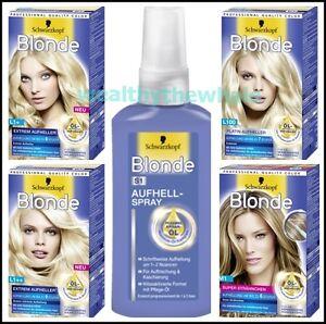 Schwarzkopf - Blonde - Platinum Extreme Lightener Color Hairs ...