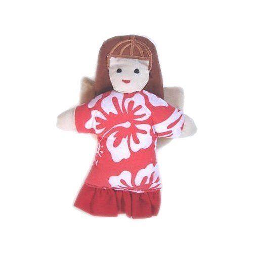 Hawaiian Angel Handmade Christmas Ornament from Hawaii