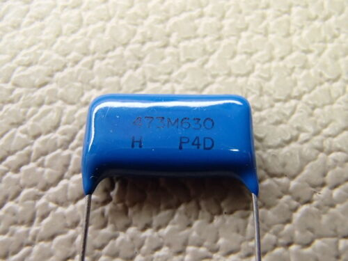 4x .047uf @ 630 volts POLYPROPYLENE CAPACITORS