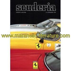 1696-Ferrari-Club-Switzerland-Magazine-Scuderia-n-4-1999-Club-Ferrari-Su