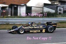 Ronnie Peterson JPS Lotus 78 Brazilian Grand Prix 1978 Photograph 1