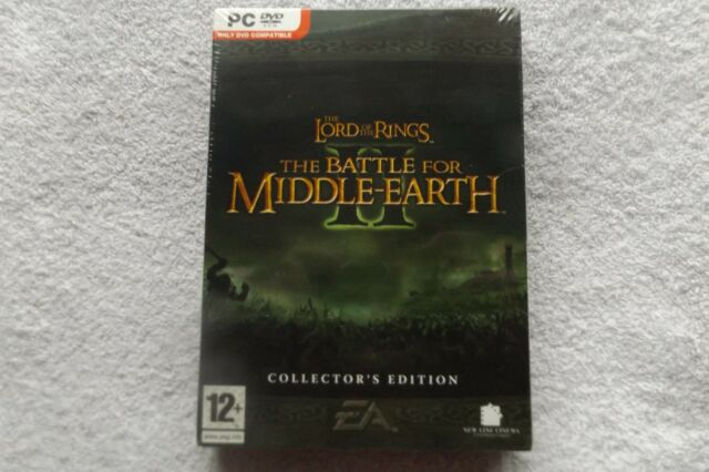 BATTLE FOR MIDDLE EARTH II 2 COLLECTOR'S PC-DVD FAST POST ( brand new & sealed )