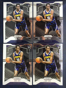 2019-20-PANINI-PRIZM-Bol-Bol-BASE-RC-282-4-Card-Rookie-Lot-Denver-Nuggets