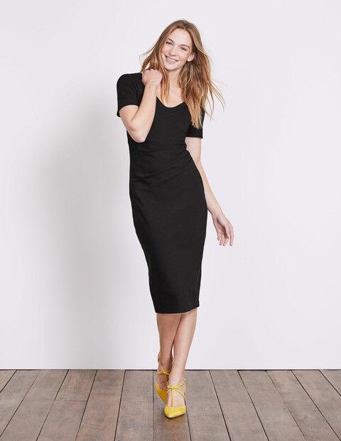 Boden Honor Ponte Dress Black Size 10 rrp £80.00   SA171 FF 15