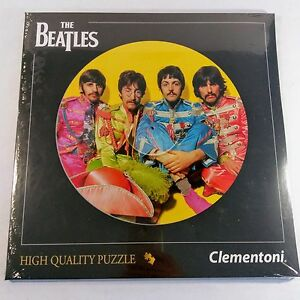 Puzzle-The-Beatles-Collection-Clementoni-212-Pieces-Real-LP-Size-NEW