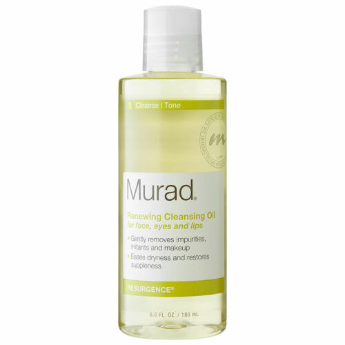 Murad Renewing Cleansing Oil for Face Eyes & Lips 6 oz