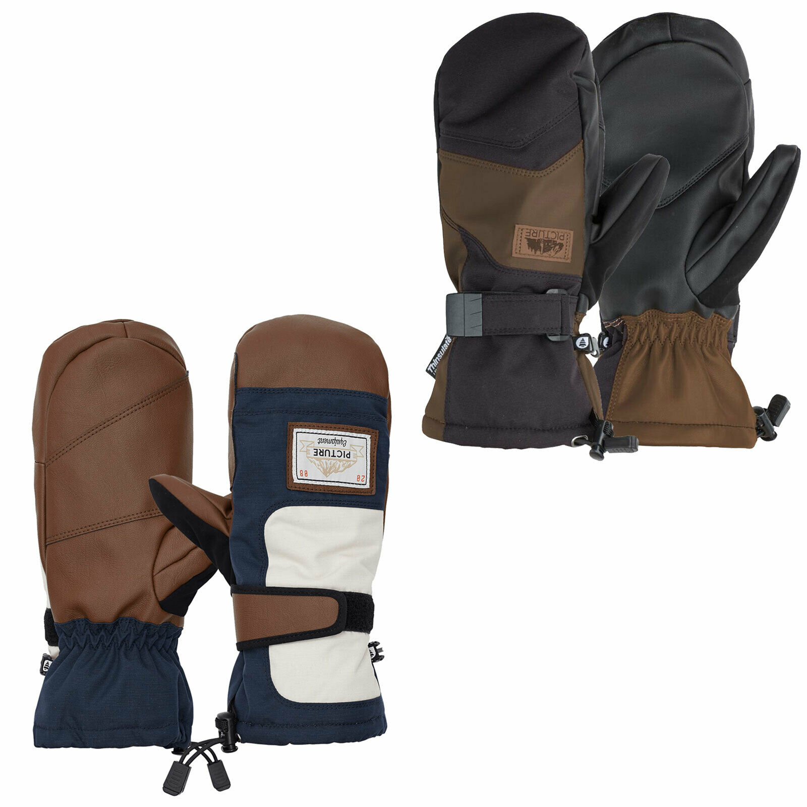 Picture Wrigley Gloves Herren-Handschuhe Winter Fausthandschuhe Fäustlinge  | Verwendet in der Haltbarkeit