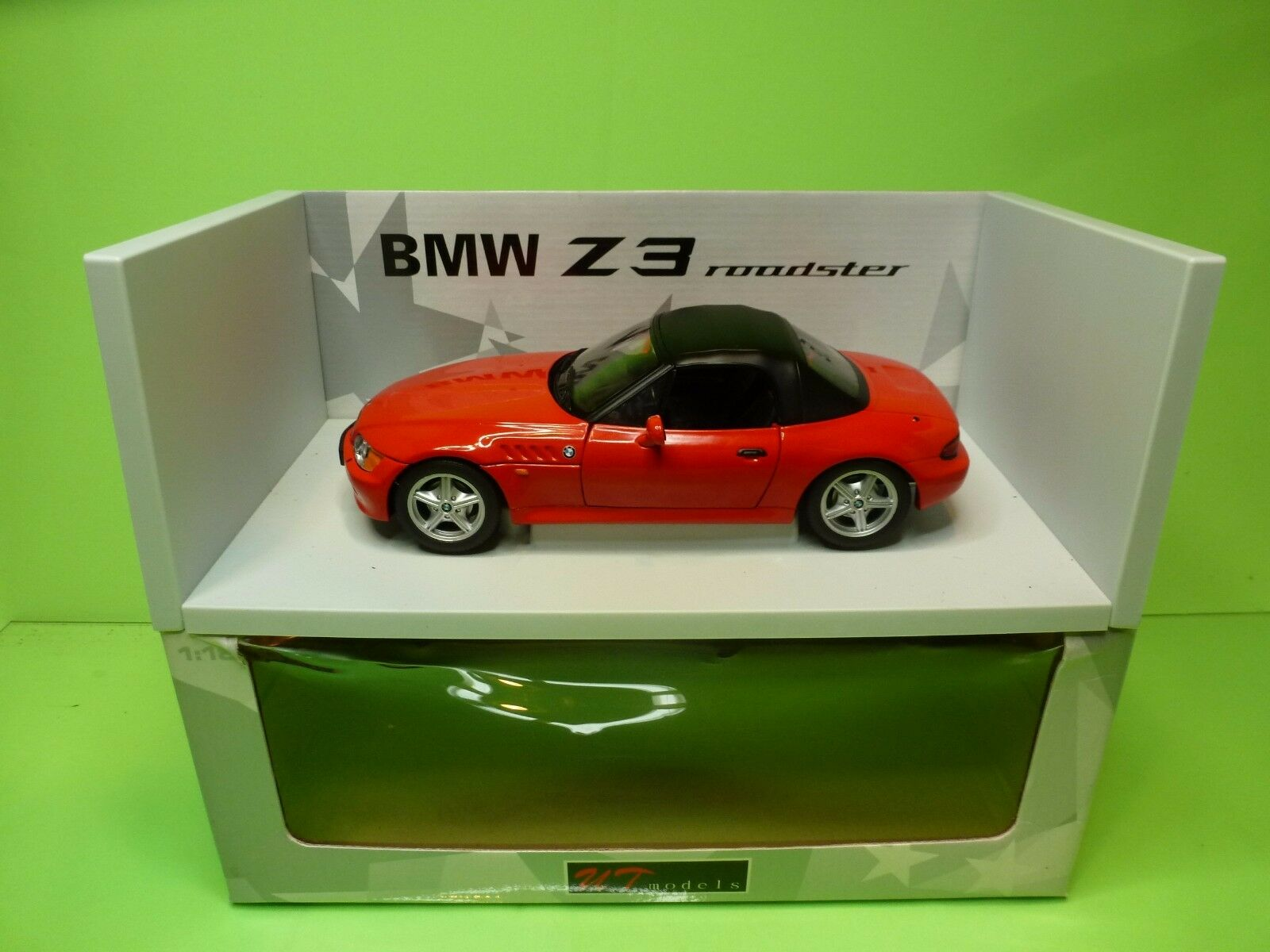 tiendas minoristas UT MODELS 20408 BMW Z3 ROADSTER 1.9 SOFT SOFT SOFT - CLOSED TOP - 1 18 - EXCELLENT IN BOX  descuento de ventas