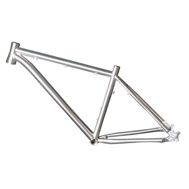 15 16 17  18  19  20 21  Titanium MTB BMX AM Bicycle Frame Disc Brake 26 27.5 29