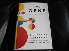 SIDDHARTHA MUKHERJEE SIGNED - THE GENE INTIMATE HISTORY - First Hardcover Ed NEW