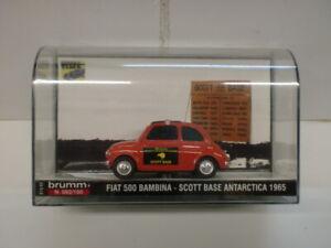 BRUMM-1-43-FIAT-500-BAMBINA-SCOTT-BASE-ANTARCTICA-1965-S-13-43