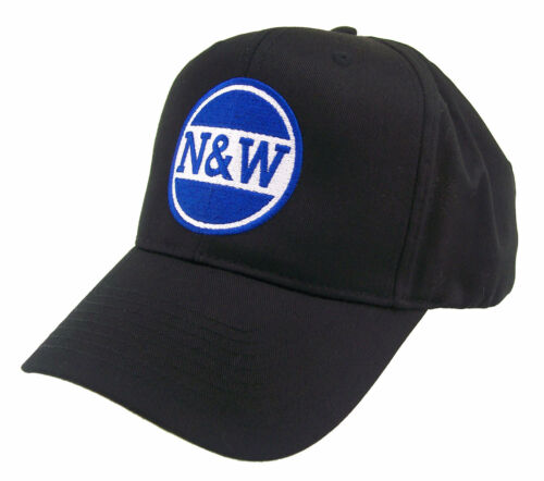 Norfolk /& Western N/&W Railway Embroidered Railroad Cap Hat #40-2401 COLOR CHOICE