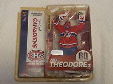 McFarlane NHL Series 10 Jose Theodore 2 Variant Red Jersey Figure