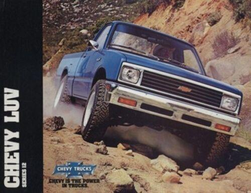 1982 Chevrolet Chevy Truck Isuzu Luv Pickup Sales Brochure Folder