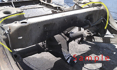 LH 1968 69 70 71 72 CHEVELLE SKYLARK 442 GTO REAR FRAME RAIL A-BODY