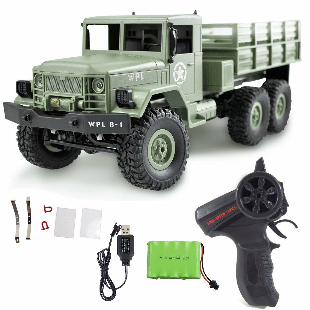 Amewi U.S. militärtruck WPL 6 WD 1 16 Army Truck Crawler 22358