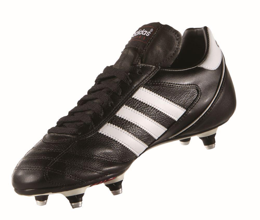 Adidas Para Hombre Fútbol Kaiser 5 Taza de terreno blando blando blando con tapones Negro blancooo Re ebe8f5