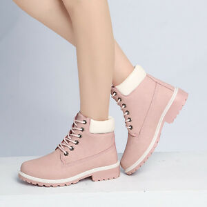 2016 New Work Boots Womens Winter Leather Shoes Outdoor Waterproof Snow Boot