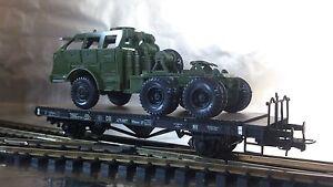 Liliput-221551-DB-Flat-Wagon-Xflmmr-37-Bremserbuhne-Era-3-1-87-HO