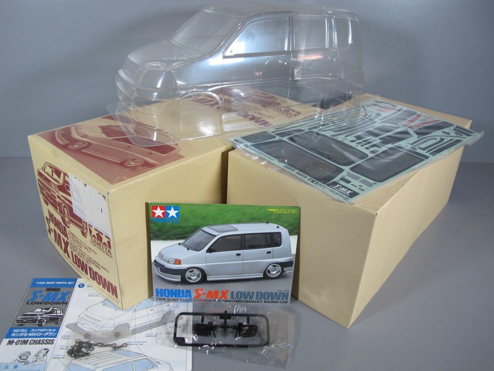 Rare New Tamiya 1 10 R C Honda S-MX Low Down Body Part Decal Set   50753