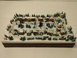 Christmas Miniatures.Details About Thomas Kinkade Hawthorne Village Christmas Miniatures Main Street 2008 Hd1559