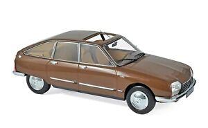 1-18-Norev-Citroen-GS-Pallas-1978-Brown-Metallic-181627-cochesaescala