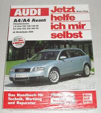 Reparaturanleitung Audi A4 + Avant, Typ B6 TDI Diesel ab Baujahr 2000
