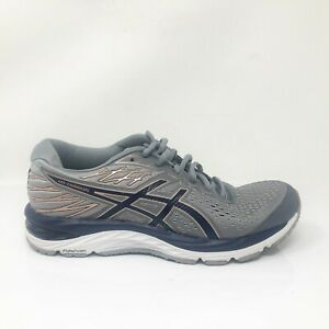 Asics-Womens-Gel-Cumulus-21-1012A468-Gray-Blue-Running-Shoes-Lace-Up-Size-7-5