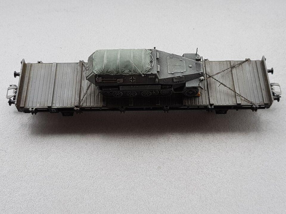 Modelbane, FLADVOGN M/KETTENRAD DEUTSCHE REICH 39-45,