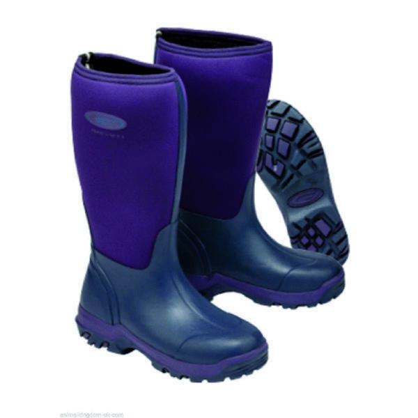 Grubs frostline 5.0 neoprene purple wellington boots all sizes field boots