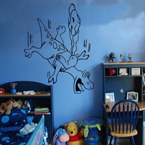 Dinosaur Kids Wall Sticker Art Kids Room Boys Girls Décor Fun KI55