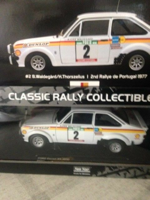 Ford Escort RS 1800  2 RALLY PORTUGAL 1977  sn 415 1290  SS 4455