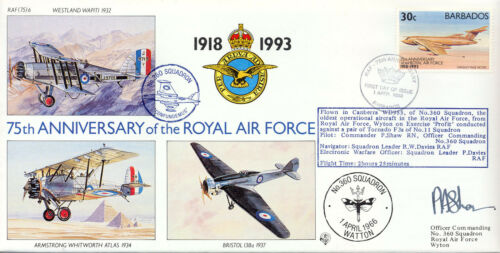 75th Anniverary of the RAF - RAF (75) 06 - No. 360 Squadron - 100 Only !