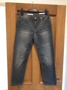 89 taglia Jigsaw Jeans denim Women Bnwt 26 £ Compton Rrp in diritti tagliati 4qS7x6x8w