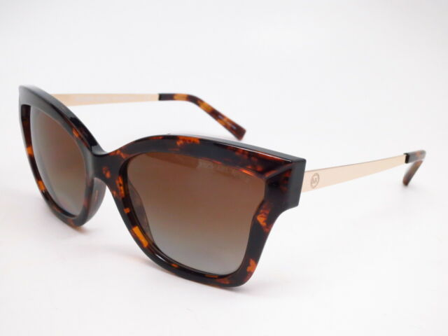 04c4902109 Michael Kors MK 2072 Barbados 3333T5 Dark Tortoise w Brown Polarized  Sunglasses