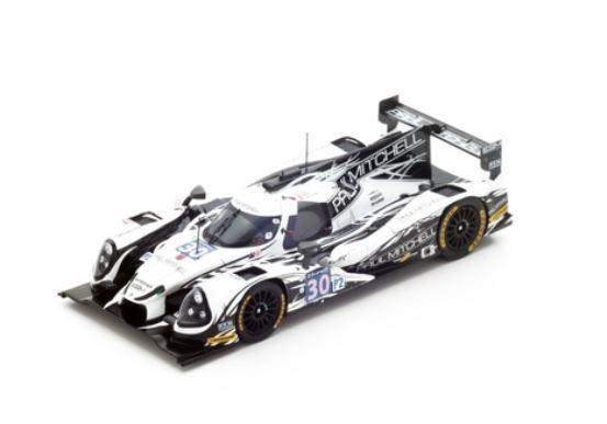Ligier JS P2-Nissan -Extreme Speed-Sharp marróne van Over-Le Mans 2016 Spark