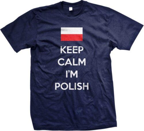 IM FROM POLAND funny polish football xmas birthday top tee mens womens T SHIRT
