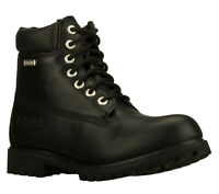 Men's Skechers Rawling-dorson 6'' Lace Up Waterproof Insulated Boot Black 63997