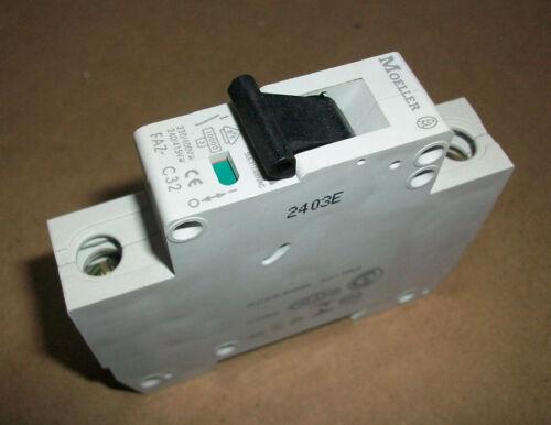 Moeller Circuit Breaker FAZ-C32    32amp  1 Pole  NEW