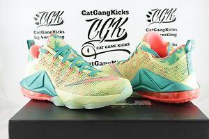 DS-Nike-Lebron-Low-XII-12-Lebronald-Arnold-Palmer-James-Lime-Mango-776652-383