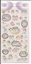Sanrio Little Twin Stars Gold Foil Outlined Stickers