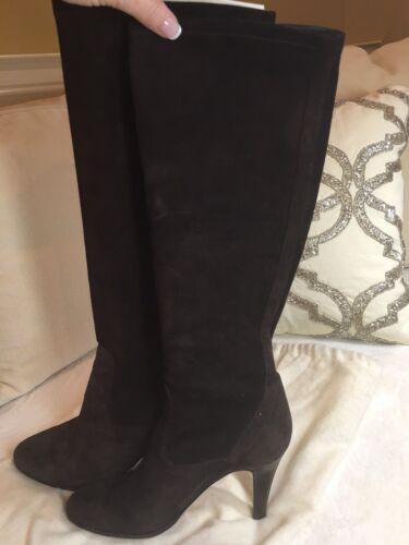 cole haan brown suede boots 8.5 women
