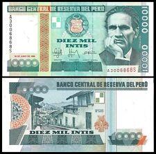 Peru 10000 INTIS 1988 P 140 UNC