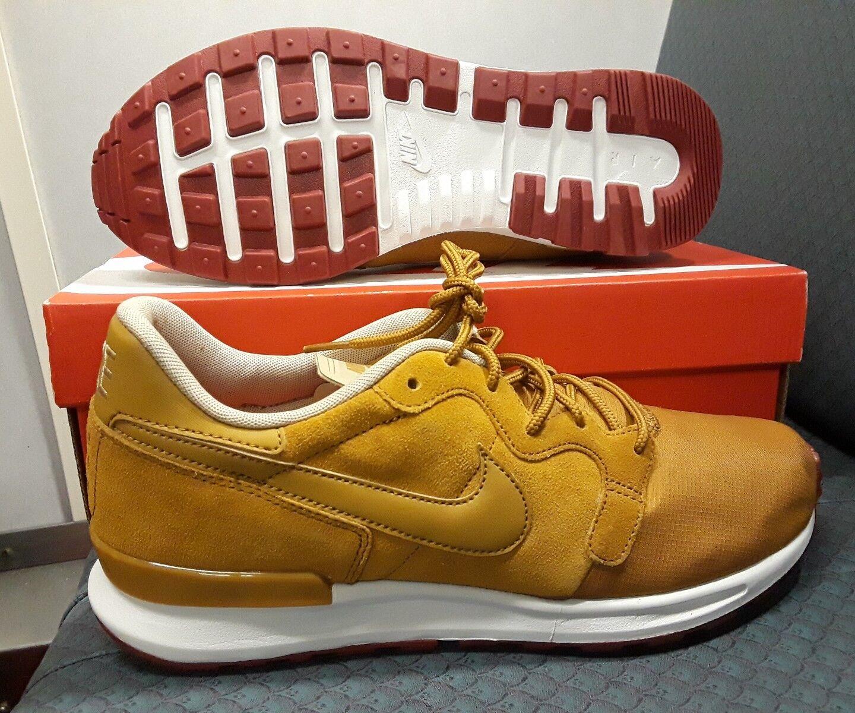 Nike air berwuda premium sneaker - ocker bettwäsche sportliche sneaker premium 844978-701 größe: 9,5 9eb424