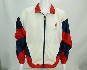 Vintage-Atlanta-Olimpico-Juegos-Coleccion-Cortavientos-Chaqueta-Eeuu-Talla-L